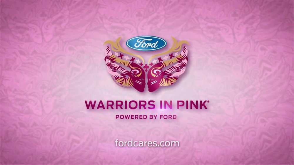 ford warriors in pink tv commercial featuring christine. Cars Review. Best American Auto & Cars Review