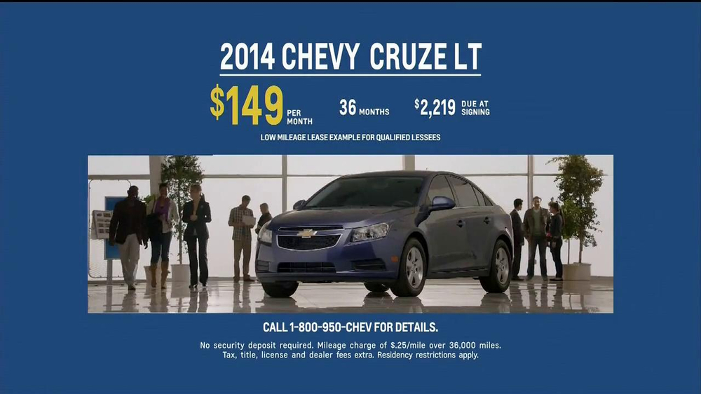 2014 Chevrolet Cruze LT TV Spot, 'Crazy' - Screenshot 8