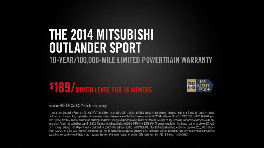 2014 Mitsubishi Outlander Sport TV Spot, 'New Beauty' Song Bobby Caldwell - Screenshot 10