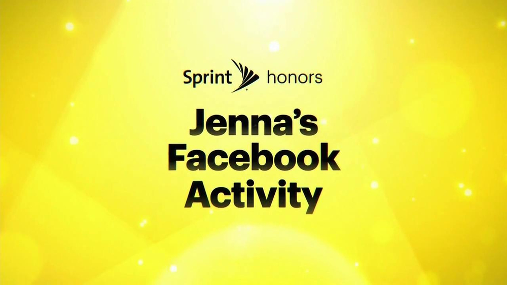 Sprint TV Spot, 'Jenna's Facebook' Ft. James Earl Jones & Malcom McDowell - Screenshot 1