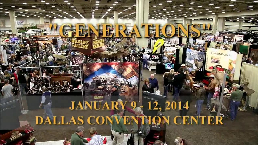 Dallas Safari Club Generations Convention & Sporting Expo TV Spot, 'Big' - Screenshot 2