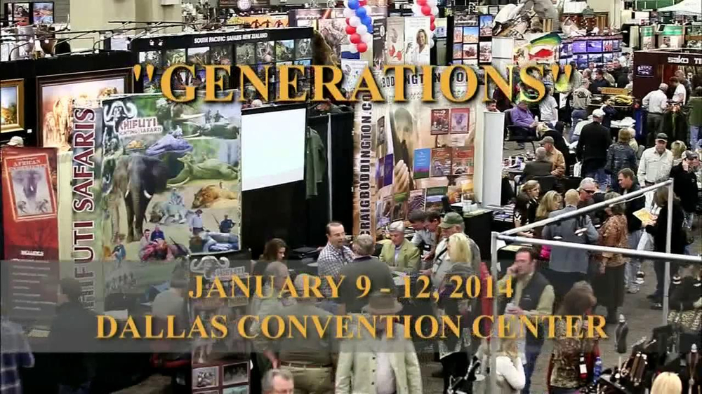 Dallas Safari Club Generations Convention & Sporting Expo TV Spot, 'Big' - Screenshot 3