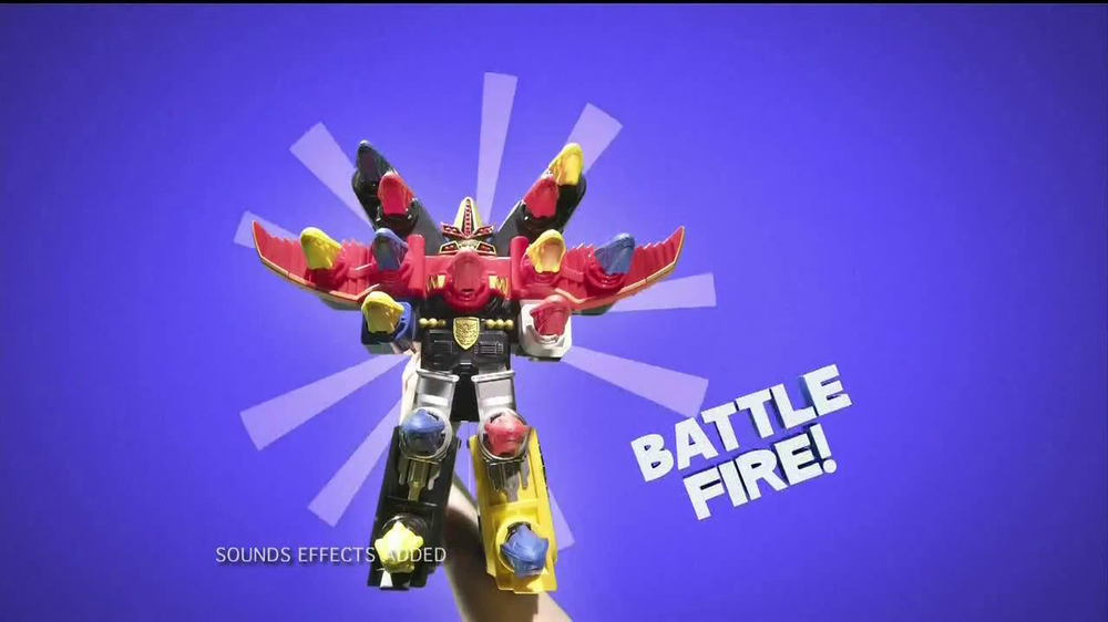 Power Rangers Megaforce Battle Fire Megazord TV Spot - Screenshot 5