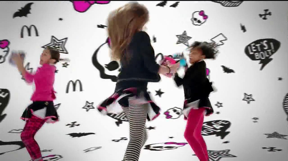 McDonald's Happy Meal TV Spot, 'Monster High' - Screenshot 8