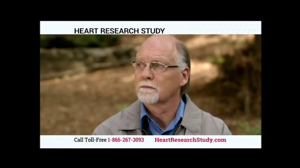 Heart Research Study TV Spot - Screenshot 1