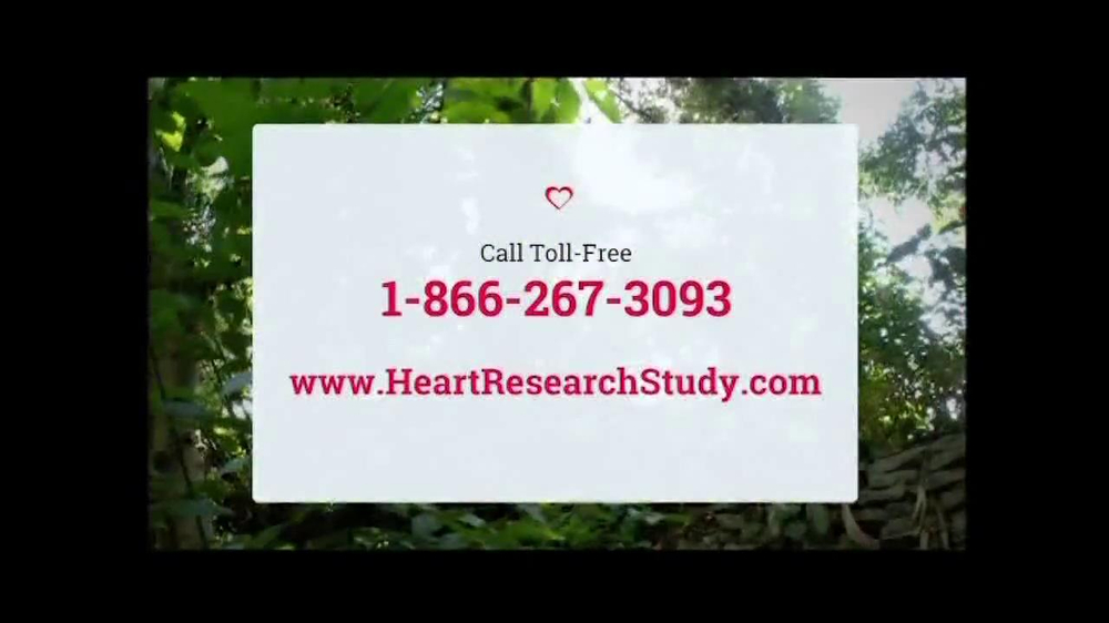 Heart Research Study TV Spot - Screenshot 9