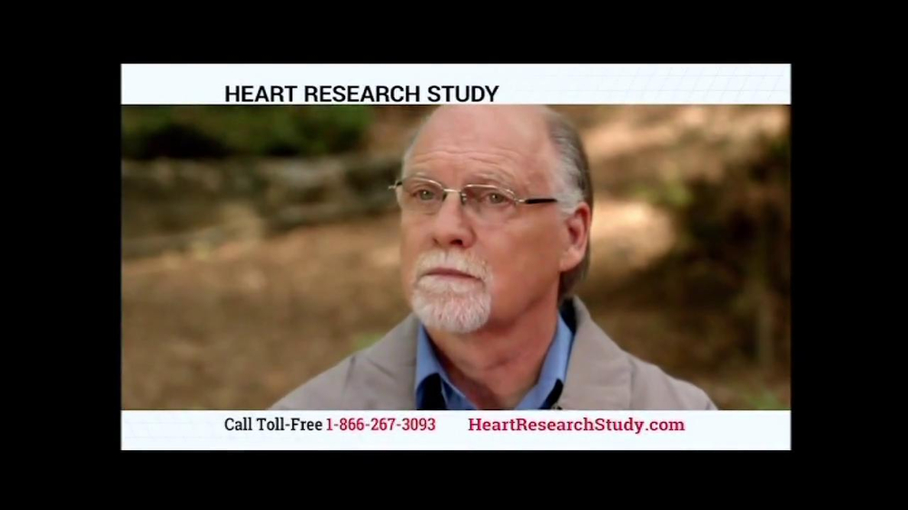 Heart Research Study TV Spot - Screenshot 2