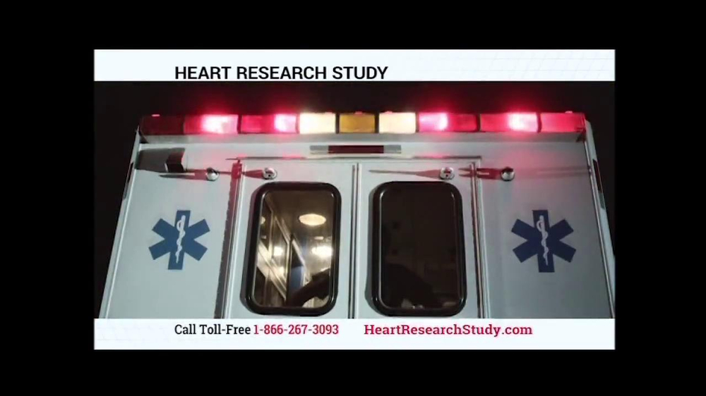 Heart Research Study TV Spot - Screenshot 3