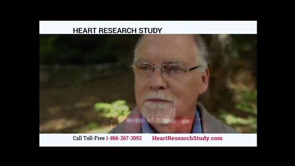 Heart Research Study TV Spot - Screenshot 4