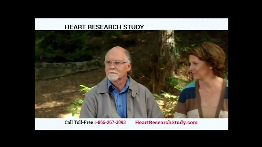 Heart Research Study TV Spot - Screenshot 5