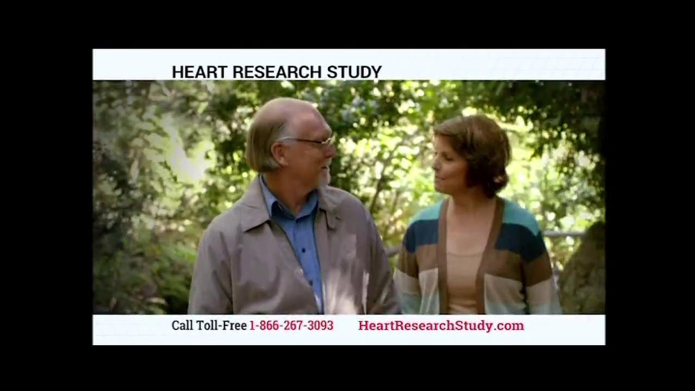 Heart Research Study TV Spot - Screenshot 7