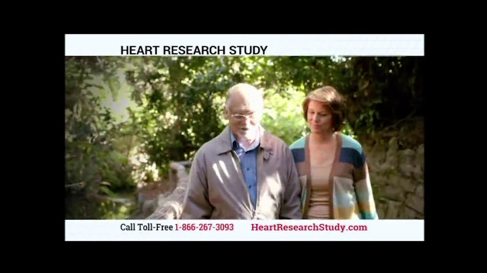 Heart Research Study TV Spot - Screenshot 8