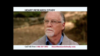 Heart Research Study TV Spot - Thumbnail 2