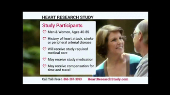 Heart Research Study TV Spot - Thumbnail 6