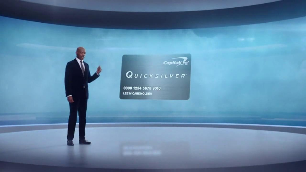 Capital One Quicksilver Cashback Card TV Spot Featuring Samuel L. Jackson - Screenshot 6
