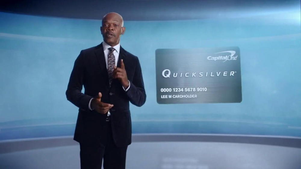 Capital One Quicksilver Cashback Card TV Spot Featuring Samuel L. Jackson - Screenshot 7
