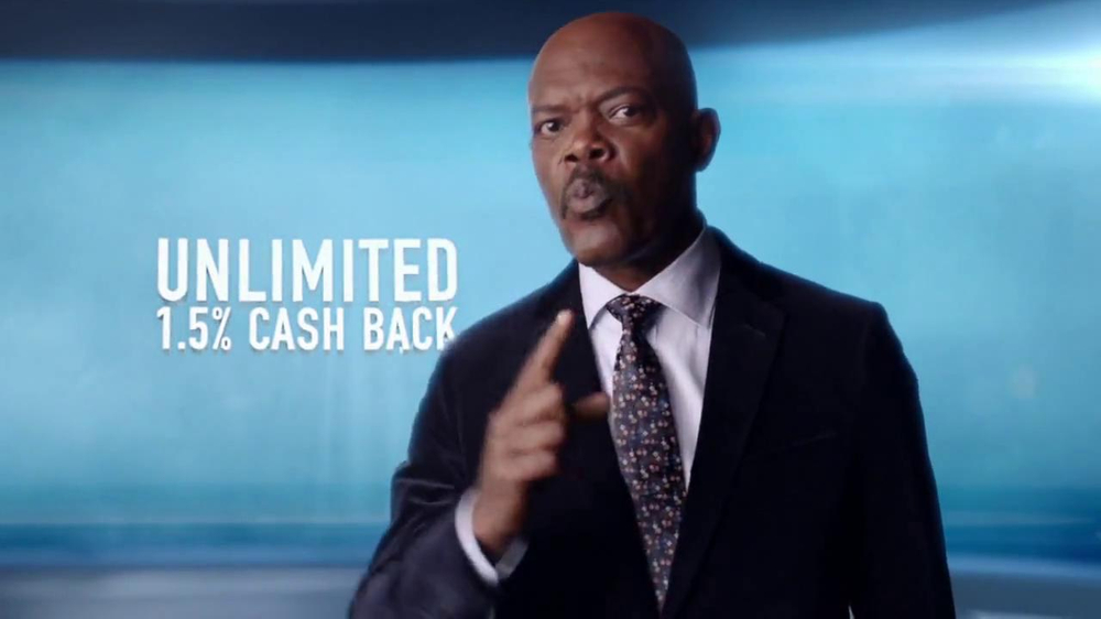 Capital One Quicksilver TV Spot, 'Kaching' Ft. Samuel L. Jackson - Screenshot 10