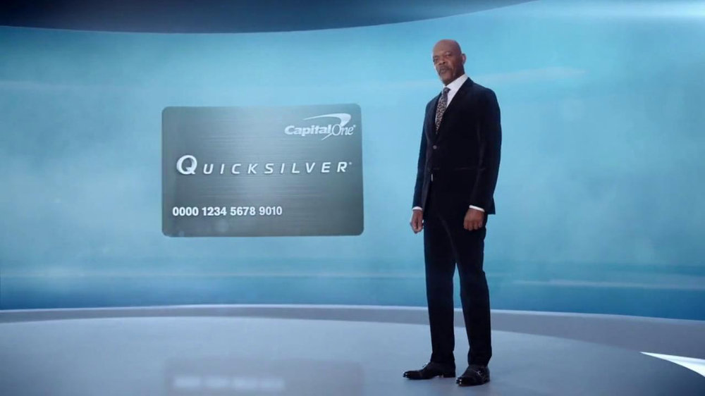 Capital One Quicksilver TV Spot, 'Kaching' Ft. Samuel L. Jackson - Screenshot 2