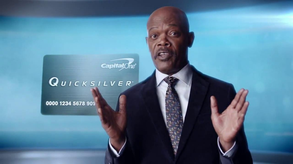 Capital One Quicksilver TV Spot, 'Kaching' Ft. Samuel L. Jackson - Screenshot 3