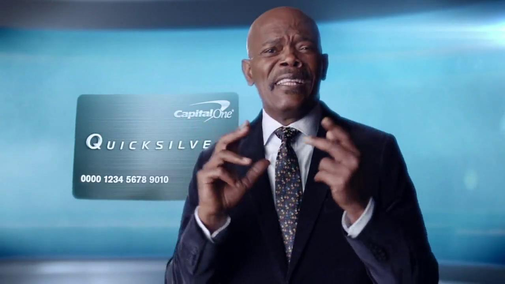 Capital One Quicksilver TV Spot, 'Kaching' Ft. Samuel L. Jackson - Screenshot 4