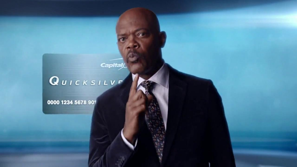 Capital One Quicksilver TV Spot, 'Kaching' Ft. Samuel L. Jackson - Screenshot 9
