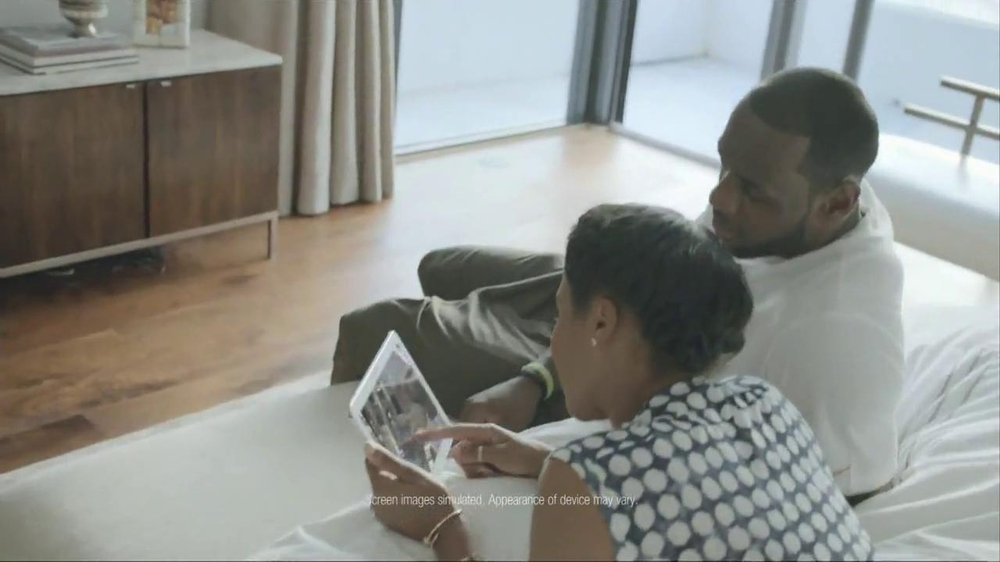Samsung Galaxy TV Spot, 'At Home' Featuring LeBron James - Screenshot 3