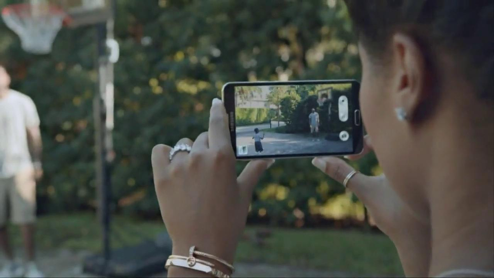 Samsung Galaxy TV Spot, 'At Home' Featuring LeBron James - Screenshot 6