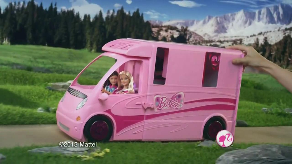 Barbie Sisters Deluxe Camper The Image