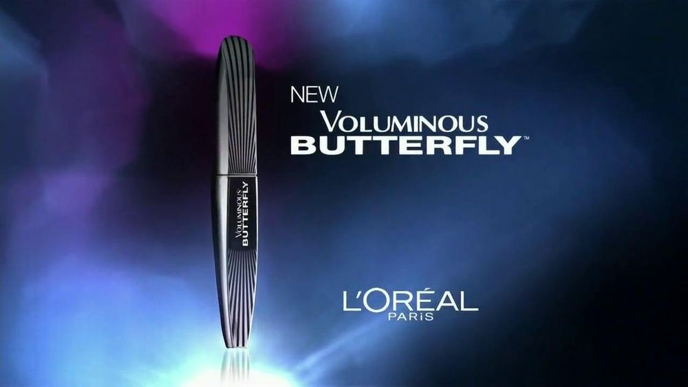 L'Oreal Paris Voluminous Butterfly Mascara TV Spot - Screenshot 2