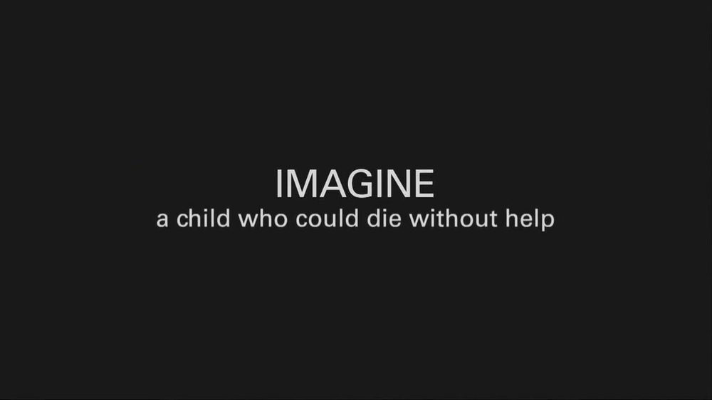 UNICEF TV Spot, 'Imagine' Featuring Alyssa Milano - Screenshot 3