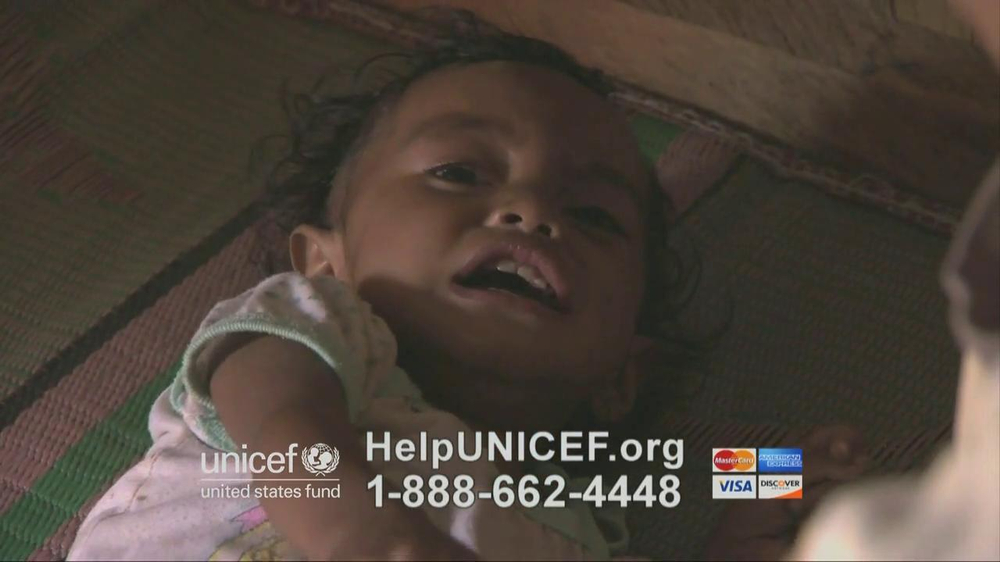 UNICEF TV Spot, 'Imagine' Featuring Alyssa Milano - Screenshot 6