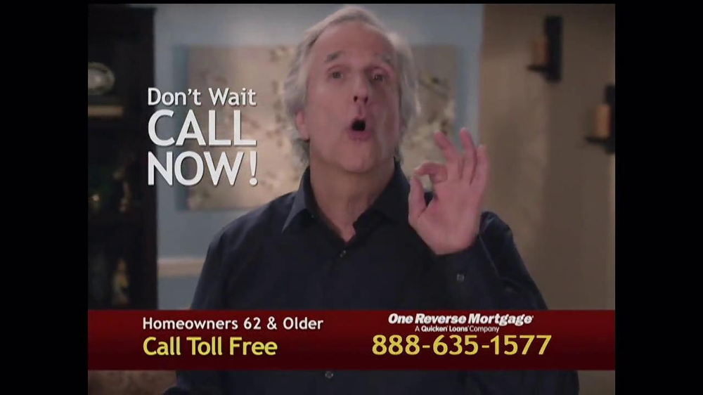 One Reverse Mortgage TV Spot, 'Myths' Featuring Henry Winkler - Screenshot 10