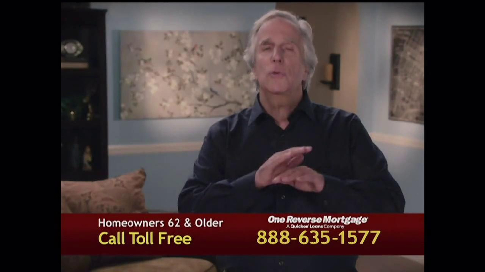 One Reverse Mortgage TV Spot, 'Myths' Featuring Henry Winkler - Screenshot 5