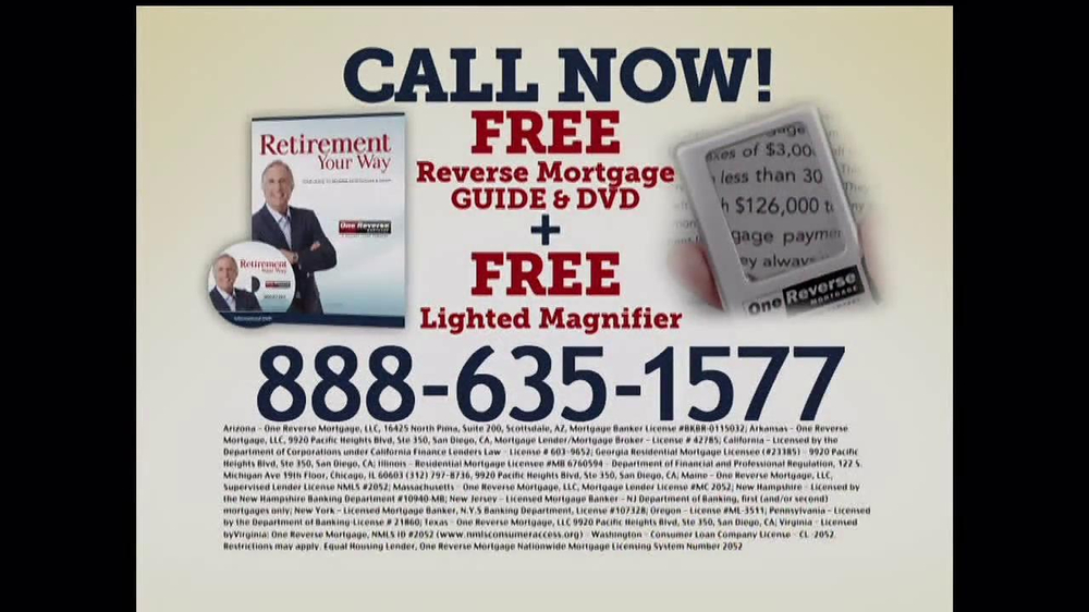 One Reverse Mortgage TV Spot, 'Myths' Featuring Henry Winkler - Screenshot 7