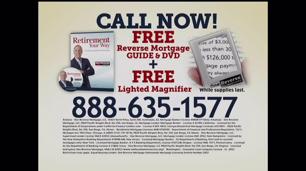 One Reverse Mortgage TV Spot, 'Myths' Featuring Henry Winkler - Screenshot 8