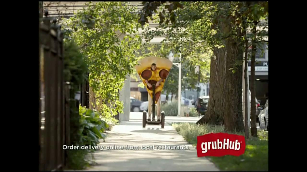 GrubHub TV Spot, 'You My Pizza?' - Screenshot 1