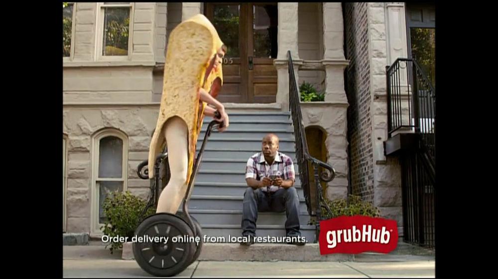 GrubHub TV Spot, 'You My Pizza?' - Screenshot 3