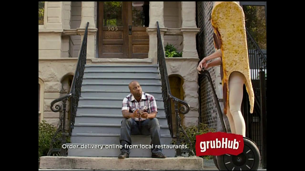 GrubHub TV Spot, 'You My Pizza?' - Screenshot 5