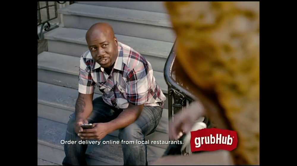 GrubHub TV Spot, 'You My Pizza?' - Screenshot 6