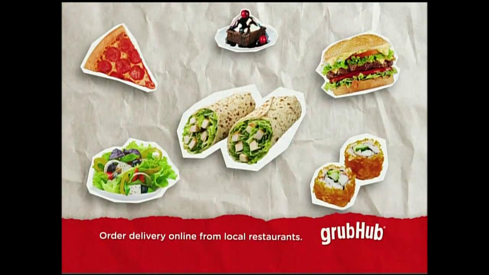 GrubHub TV Spot, 'You My Pizza?' - Screenshot 7