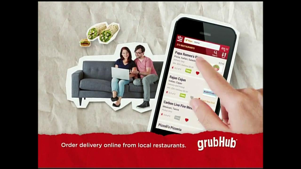 GrubHub TV Spot, 'You My Pizza?' - Screenshot 8