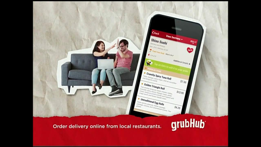 GrubHub TV Spot, 'You My Pizza?' - Screenshot 9