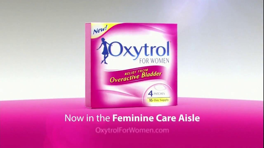 Oxytrol For Women TV Spot - Screenshot 9