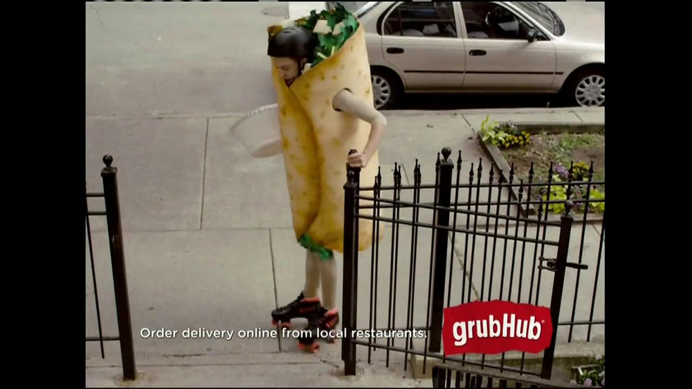 GrubHub TV Spot, 'Dressin' on the Side' - Screenshot 1