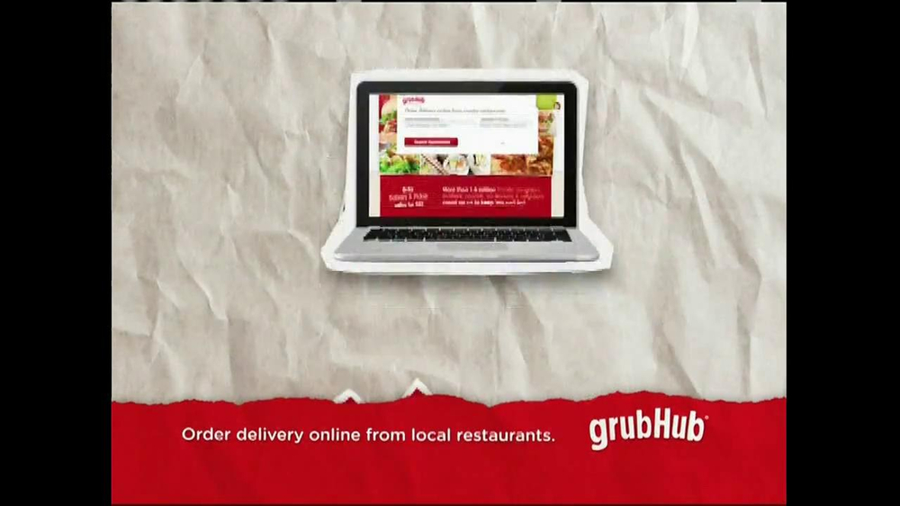 GrubHub TV Spot, 'Dressin' on the Side' - Screenshot 10