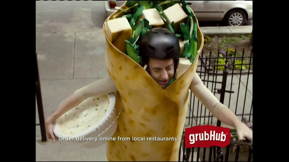 GrubHub TV Spot, 'Dressin' on the Side' - Screenshot 2