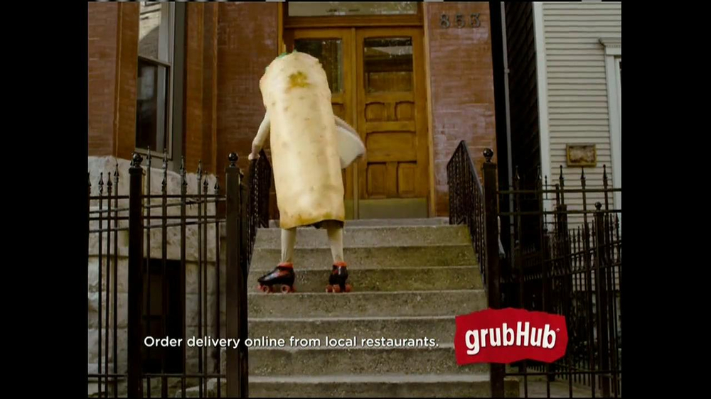 GrubHub TV Spot, 'Dressin' on the Side' - Screenshot 3