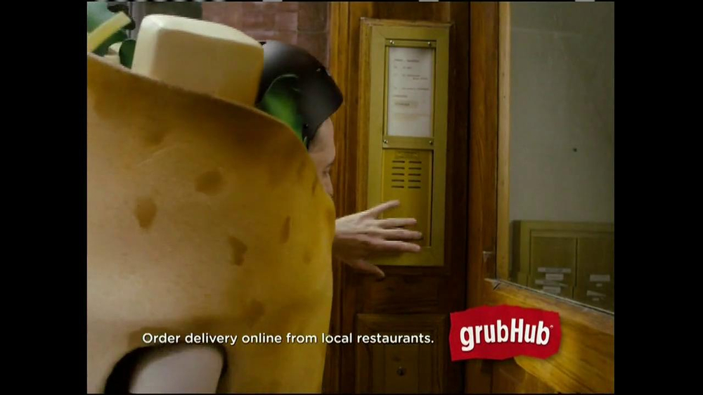 GrubHub TV Spot, 'Dressin' on the Side' - Screenshot 4