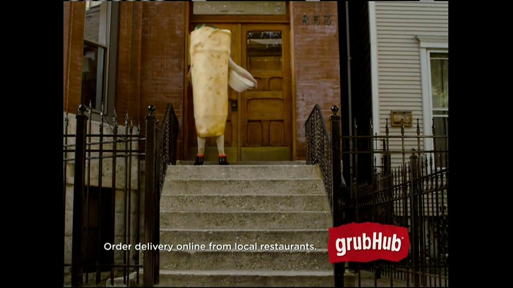 GrubHub TV Spot, 'Dressin' on the Side' - Screenshot 6