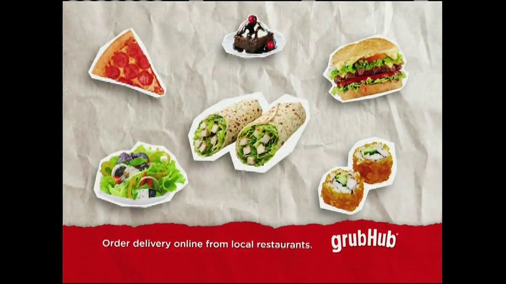 GrubHub TV Spot, 'Dressin' on the Side' - Screenshot 7